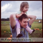 McKinley and Dada at Lynd's Fruit Farm 2013